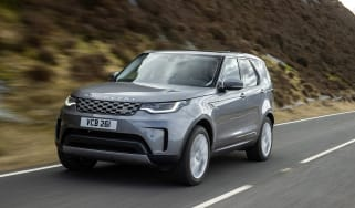 Land Rover Discovery 5 2021 - front tracking