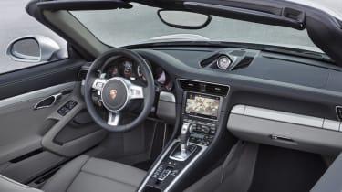 2013 Porsche 911 Turbo Cabriolet interior dashboard