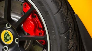 Lotus Elise Sprint 220 - Rear brakes