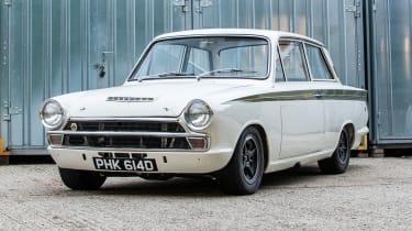 1966 Lotus Cortina Group 5 front