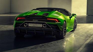 Lamborghini Huracan Evo Spyder - rear