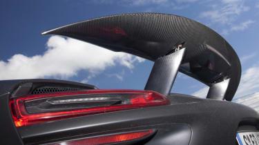 2013 Porsche 918 Spyder active rear spoiler
