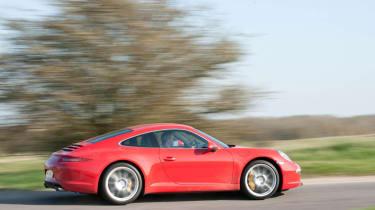 2012 Porsche 911 Carrera manual side