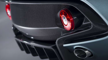 Aston Martin CC100 speedster concept carbon rear diffuser