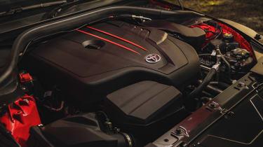 Toyota Supra 2.0 review - engine bay