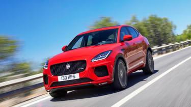 Jaguar E-Pace - driving front