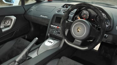 2013 Lamborghini Gallardo LP560-4 interior dashboard steering wheel