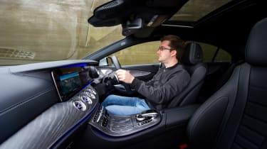 Mercedes-Benz CLS 400d interior