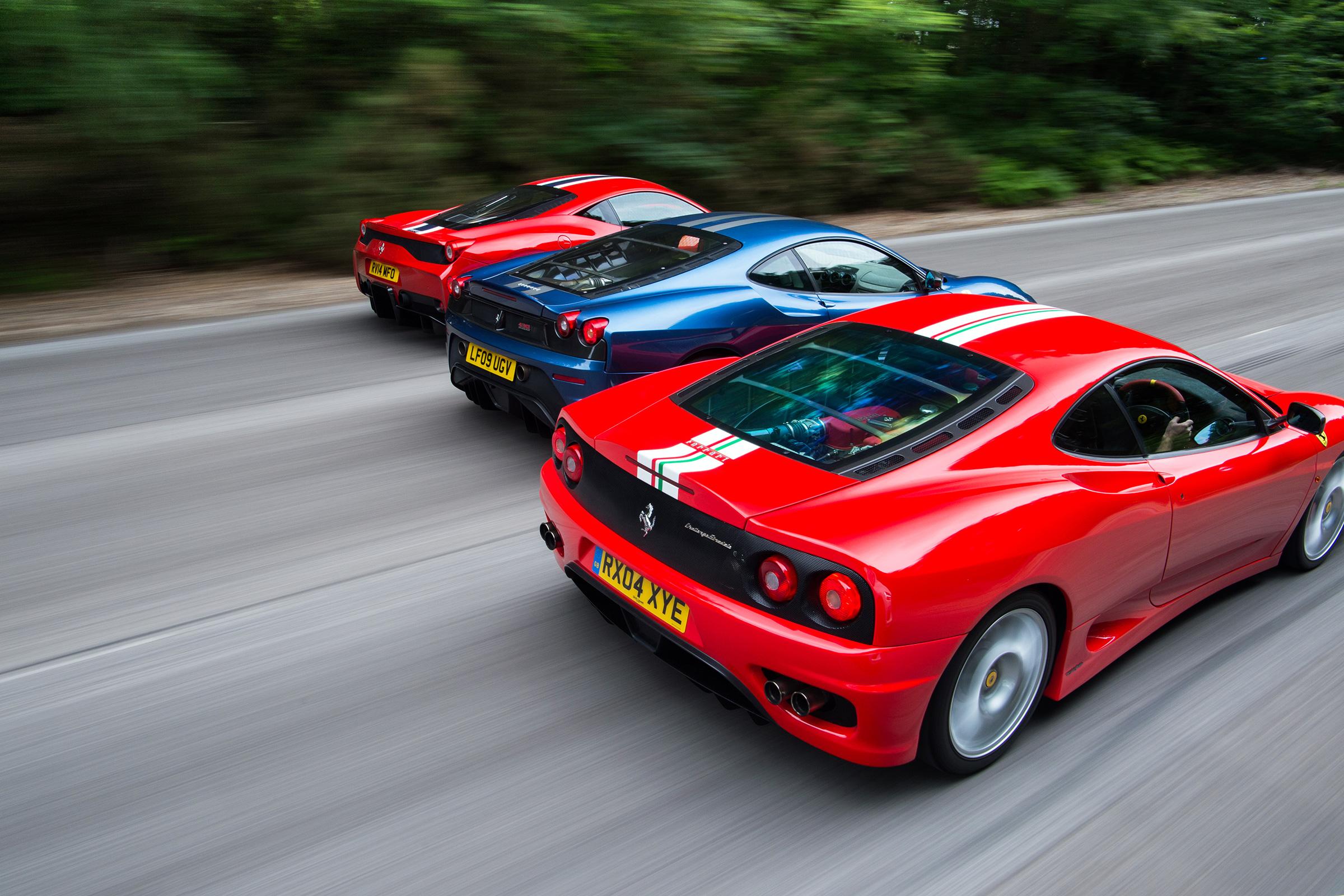 Ferrari Lightweight Specials 458 Speciale Vs 430 Scuderia