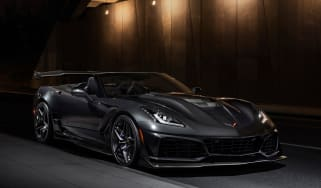 Chevrolet Corvette ZR1 convertible – front quarter