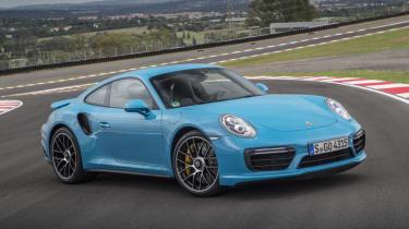 991.2 Porsche 911 Turbo S - front static 2