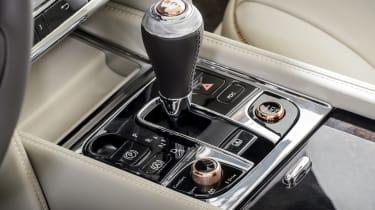 Bentley Mulsanne Hybrid concept controls