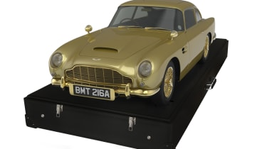 Gold Aston Martin DB5 up for auction