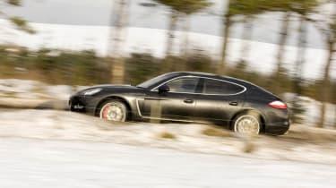 Aston Martin Rapide v Porsche Panamera Turbo v Maserati Quattroporte GT S v Bentley Flying Spur Speed