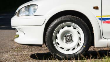 Peugeot 106 Rallye wheel