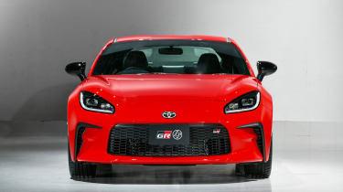 2022 Toyota GR86 - nose