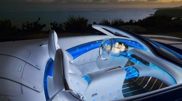 Vision Mercedes-Maybach 6 Cabriolet - interior