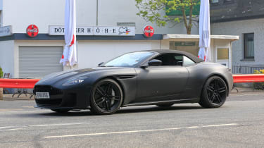 Aston Martin DBS Volante - front quarter