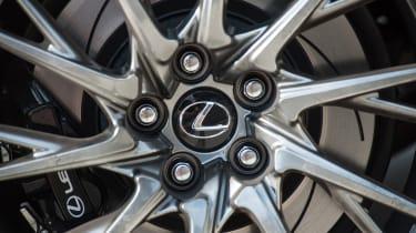 Lexus RC F wheel