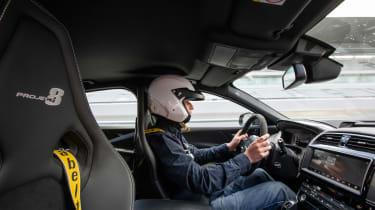 Jaguar XE SV Project 8 - interior