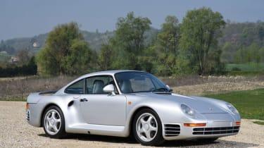 Porsche 959 - Front