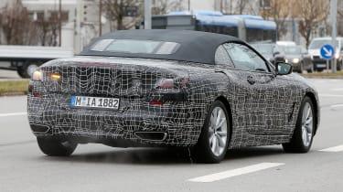 BMW 8-series Cabriolet spied - raar