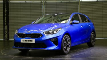 Kia Ceed launch images - front quarter