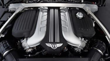 Bentley Continental GT UK drive - engine bay