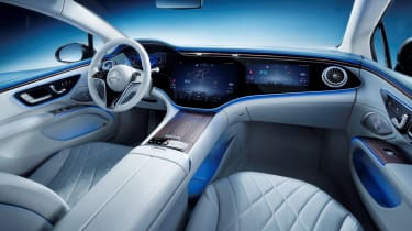 Mercedes EQS – interior