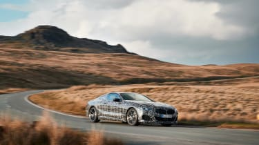 BMW 8-series prototype review - quarter