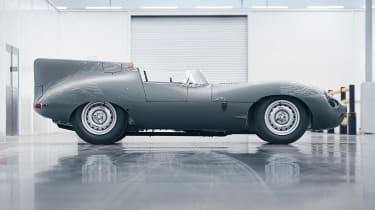 Jaguar D-Type – side