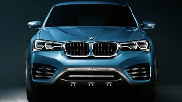 2014 BMW X4 Concept front