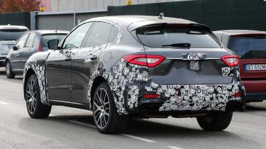 Maserati Levante spied - rear