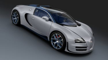 Bugatti Veyron Rafale special edition launched