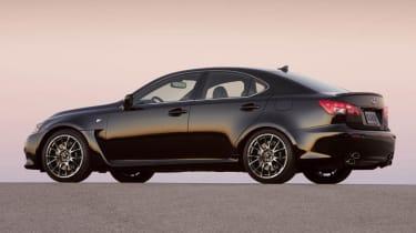 New Lexus IS-F black rear