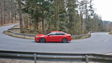 Vauxhall Insignia GSi Gran Sport – side