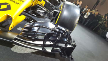 Renault Sport R.S.17 2017 Formula One car front wing
