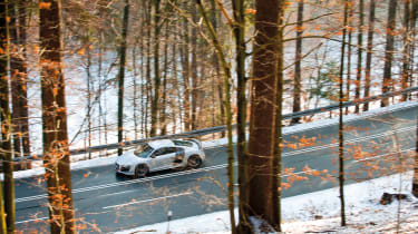 Audi R8 GT in Germany - driveby