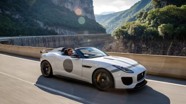 Jaguar F-Type Project 7 - white front
