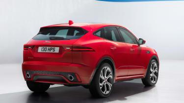 Jaguar E-Pace - driving static R Design rear