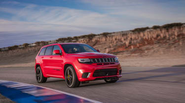 Jeep Grand Cherokee Trackhawk - track front