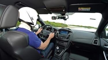 evo 2018 tyre test - interior