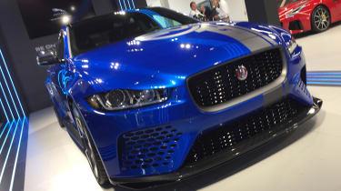 Jaguar XE SV Project 8 - Goodwood front