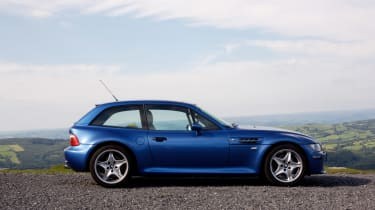 BMW M coupe buying guide - side profile