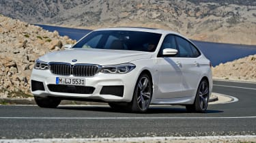BMW 6-series GT - front driving 5