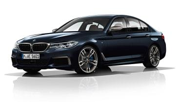 BMW M550d xDrive front saloon