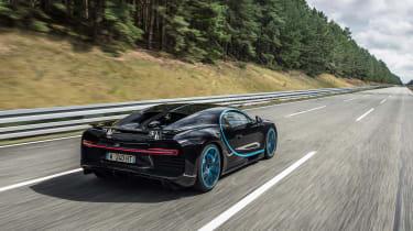 Bugatti Chiron '42' record breaker - rear quarter