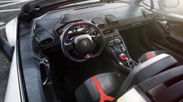 Lamborghini Huracan Performante Spyder - interior