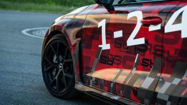 Audi RS3 mule 2020 SB – wing