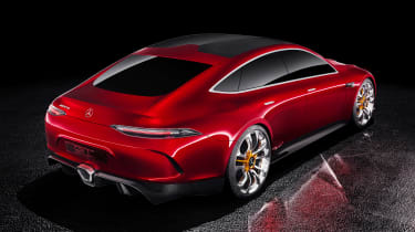 Mercedes-AMG GT Concept rear static